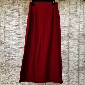 M.J. Carroll Knit Maxi Skirt